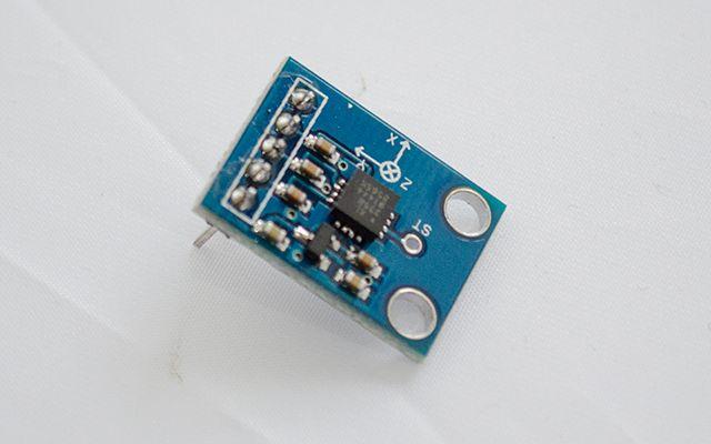 arduino-accéléromètre